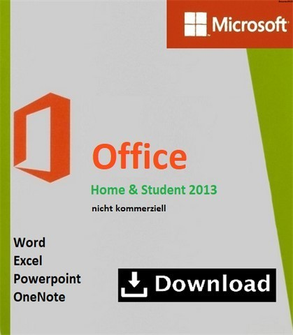 microsoft office 2013 home and student kaufen. Black Bedroom Furniture Sets. Home Design Ideas