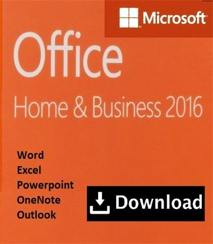 microsoft office 2016 home and business jetzt gebraucht kaufen. Black Bedroom Furniture Sets. Home Design Ideas