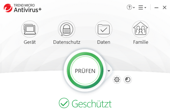 Trend Micro Antivirus+ Security  (3 PC / 1 Jahr)