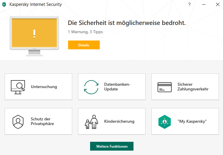 Kaspersky Internet Security (1Jahr/3PC)