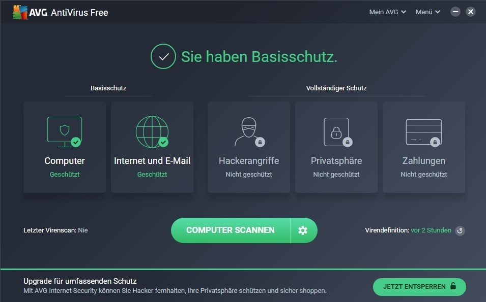 AVG Antivirus 1PC/1Jahr (Download)